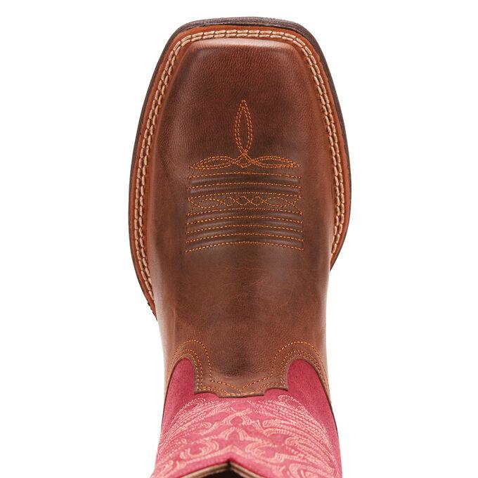 Round Up Stockyards Western Boot