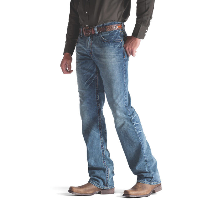 M4 Low Rise Scoundrel Boot Cut Jean