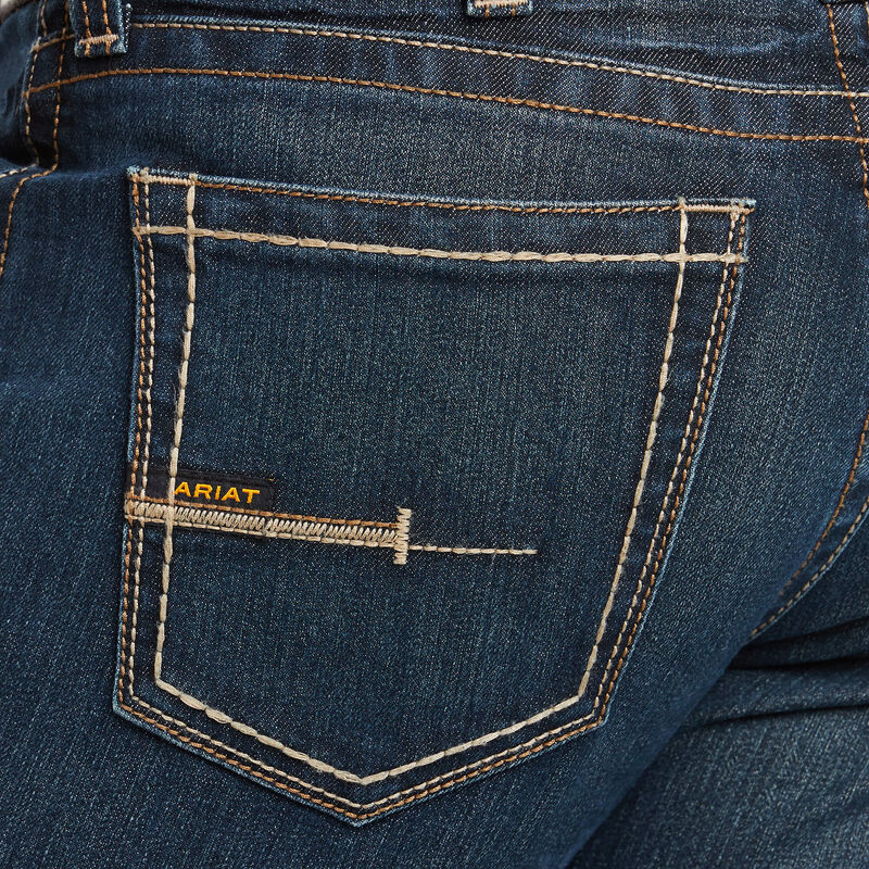 Rebar M7 DuraStretch Edge Stackable Straight Leg Jean