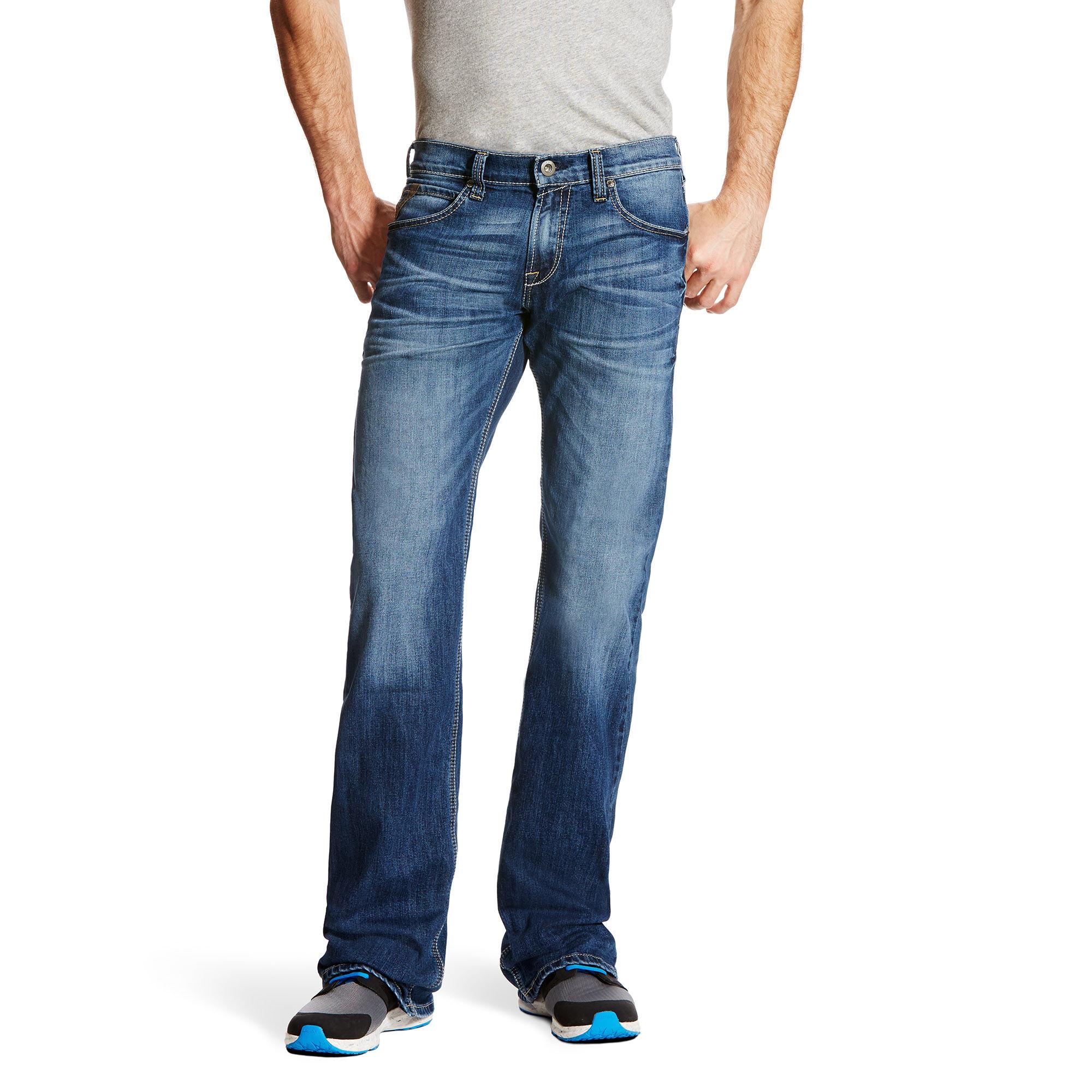 M7 Rocker Destructed Incline Stretch Cooling Boot Cut Jean