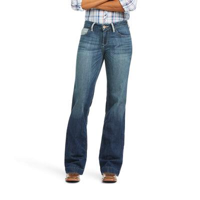 Trouser Perfect Rise Angela Wide Leg Jean