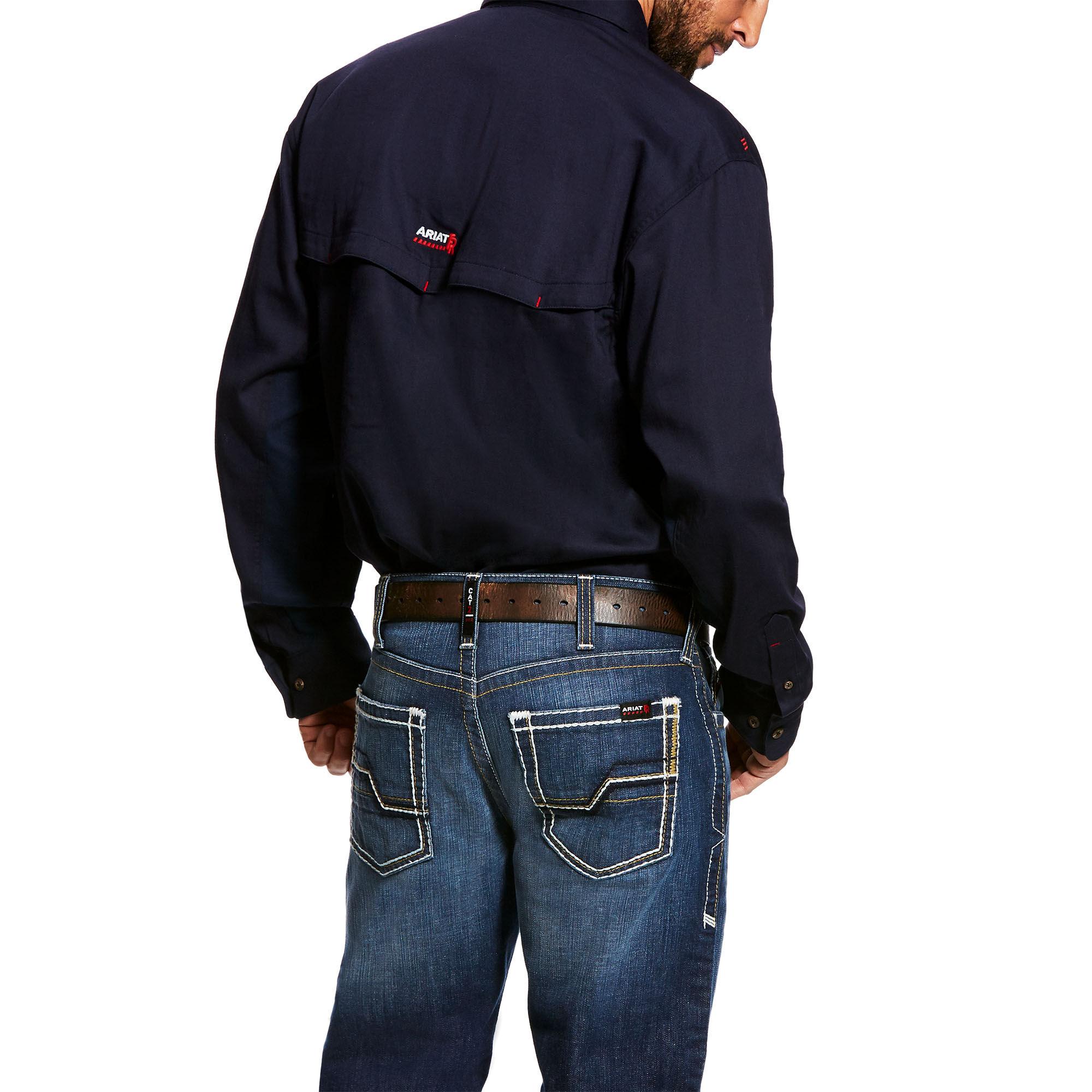 c777cd264dc FR Solid Vent Work Shirt