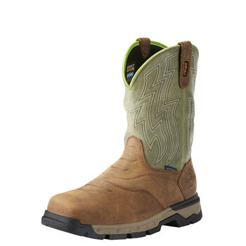Rebar Flex Western Waterproof Composite Toe Work Boot