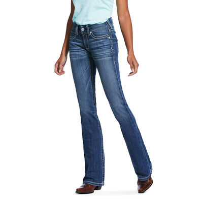 R.E.A.L. Mid Rise Stretch Hannah Boot Cut Jean