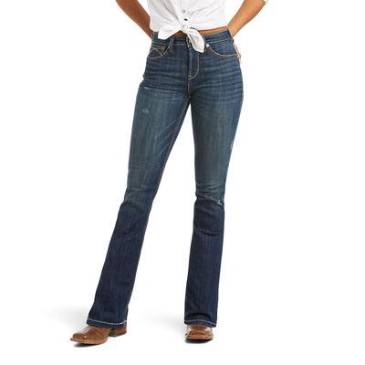 R.E.A.L. High Rise Katrina Boot Cut Jean