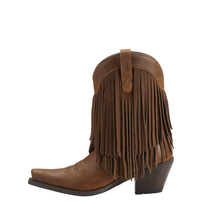 Gold Rush Western Boot