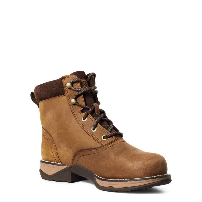Anthem Round Toe Lacer Waterproof Composite Toe Work Boot