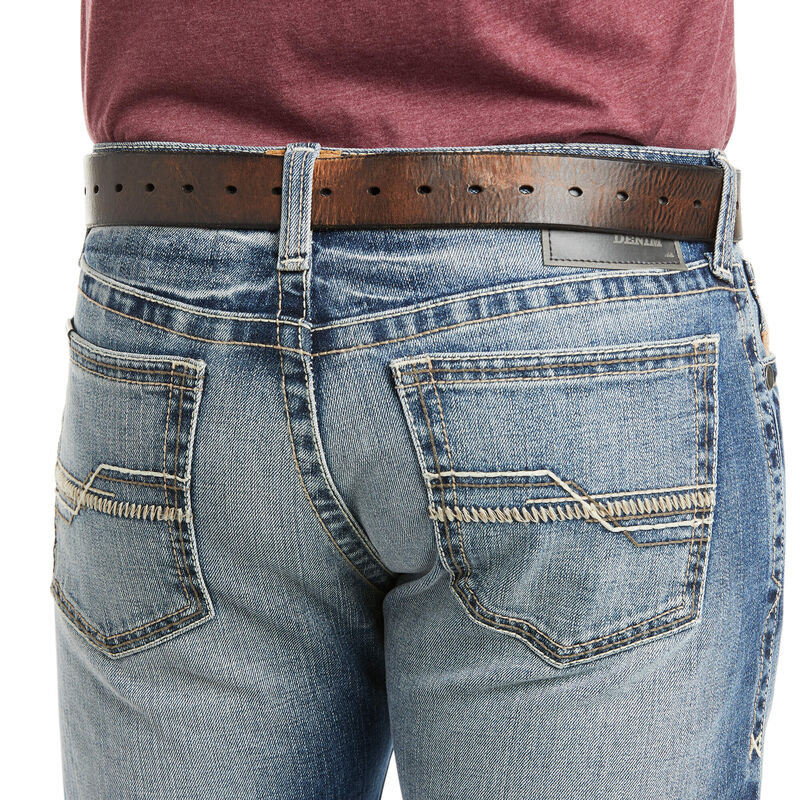 M7 Rocker Stretch Garrison Stackable Straight Leg Jean