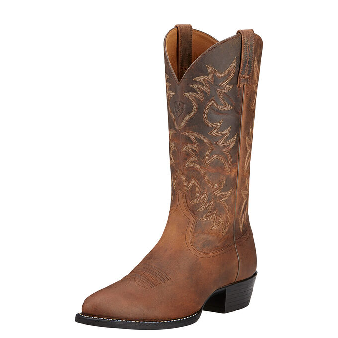Heritage R Toe Western Boot