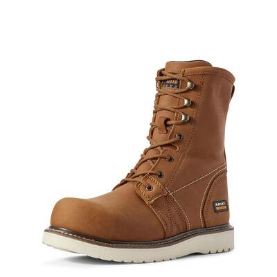 "Rebar Wedge 8"" Composite Toe Work Boot"