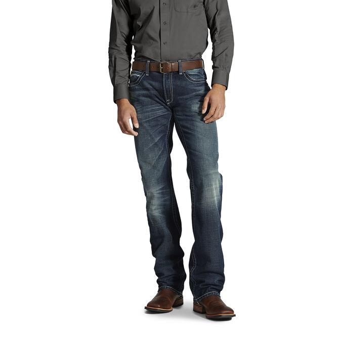 M4 Low Rise Roughline Boot Cut Jean