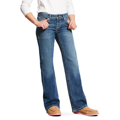 Whipstitch Boot Cut Jean