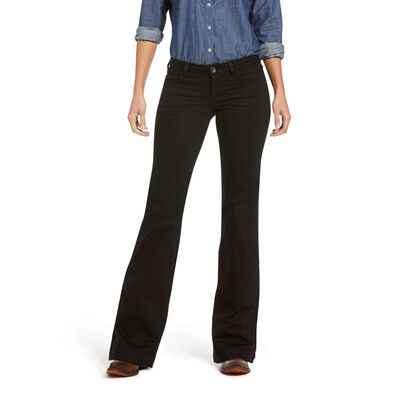 Trouser Mid Rise Forever Wide Leg Pant