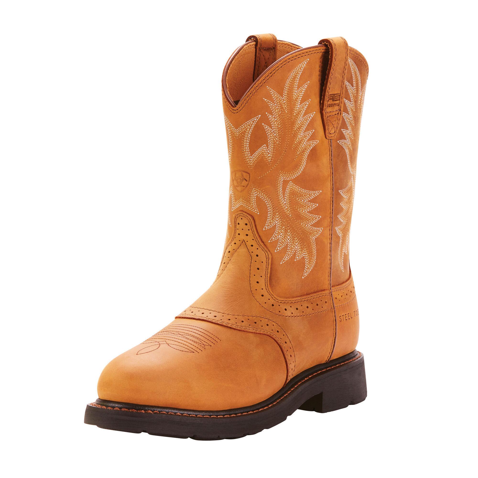 Sierra Saddle Steel Toe Work Boot | Ariat