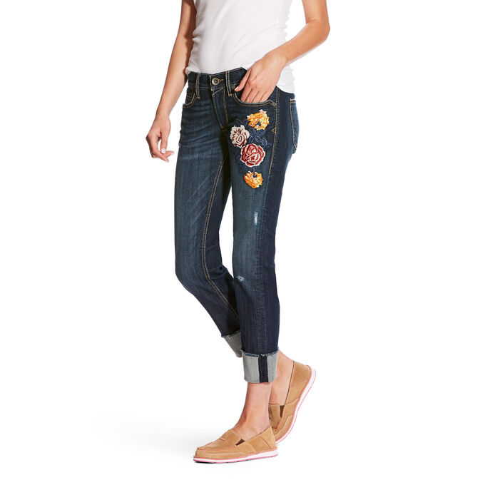 Boyfriend Bloom Stackable Straight Jean