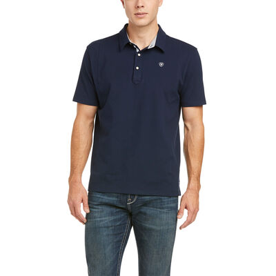 Medal Button Polo