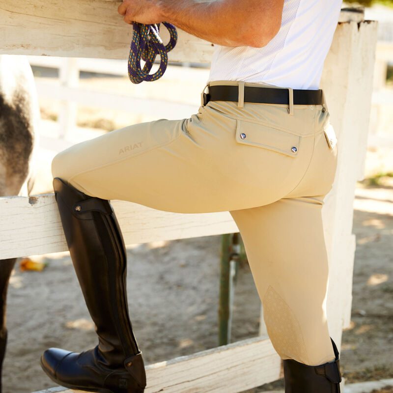 Tri Factor Grip Knee Patch Breech