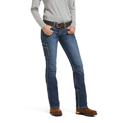 Rebar DuraStretch Riveter Straight Leg Jean