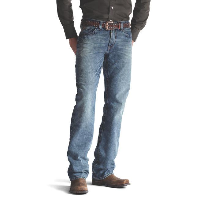 Men's Western Bootcut Jeans - Medium Wash