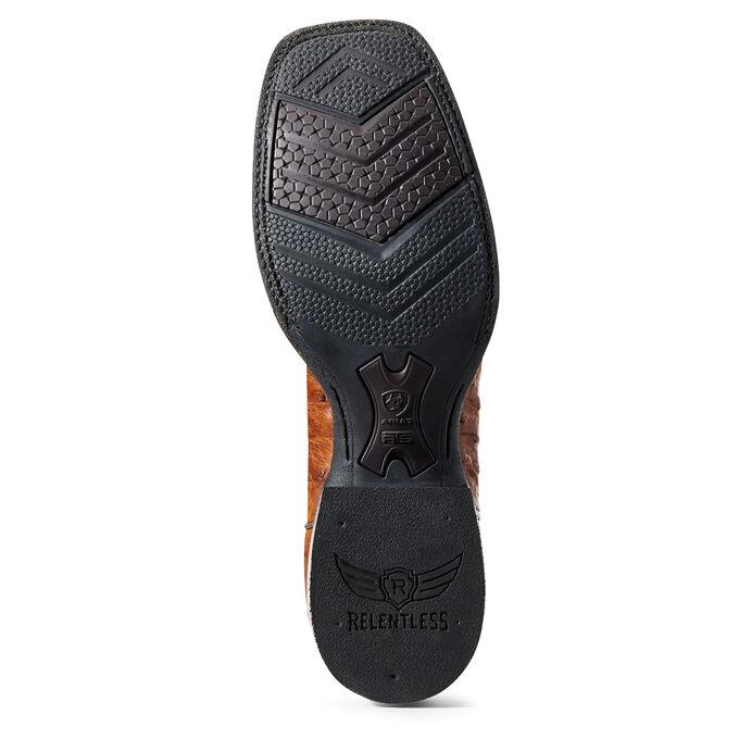 Relentless Platinum Western Boot