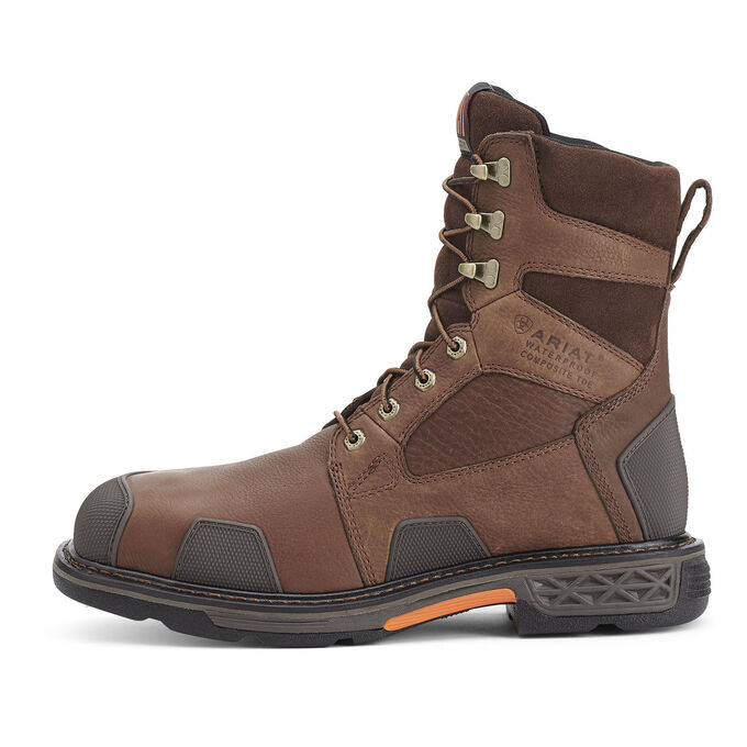 "OverDrive 8"" Wide Square Toe Waterproof Composite Toe Work Boot"