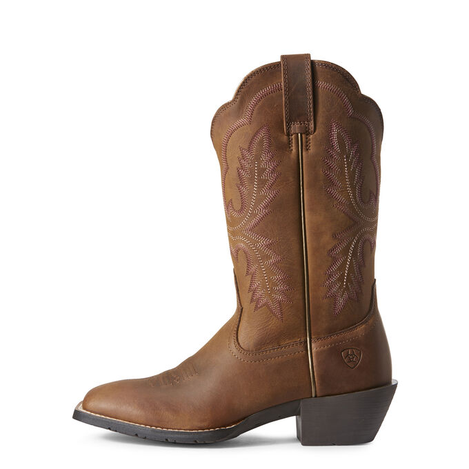 Hybrid Rancher Crossfire Western Boot