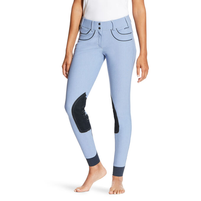Olympia Acclaim Low Knee Patch Front Zip Knee Patch Breech