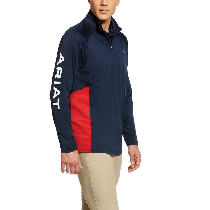 Sunstopper Team 1/4 Zip Baselayer