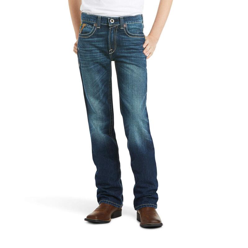 B5 Slim Boundary Stackable Straight Leg Jean