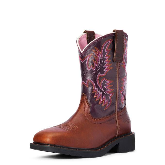 Krista Steel Toe Work Boot