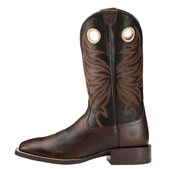 Sport Rider Wide Square Toe Western Boot
