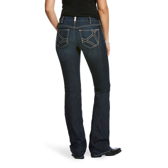 REAL Mid Rise Mira Boot Cut Jean