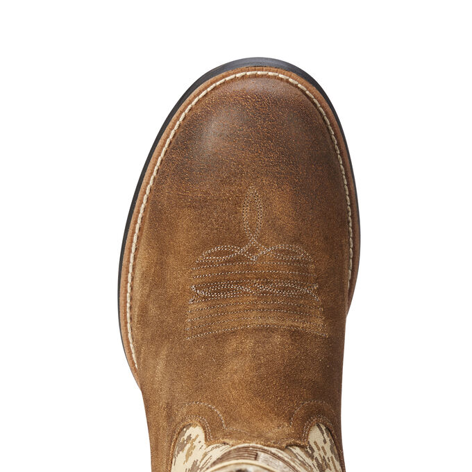 Sport Patriot Round Toe Western Boot