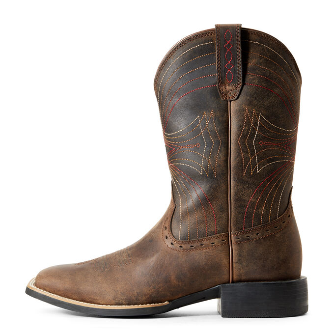 ea3561eabef Sport Wide Square Toe Western Boot