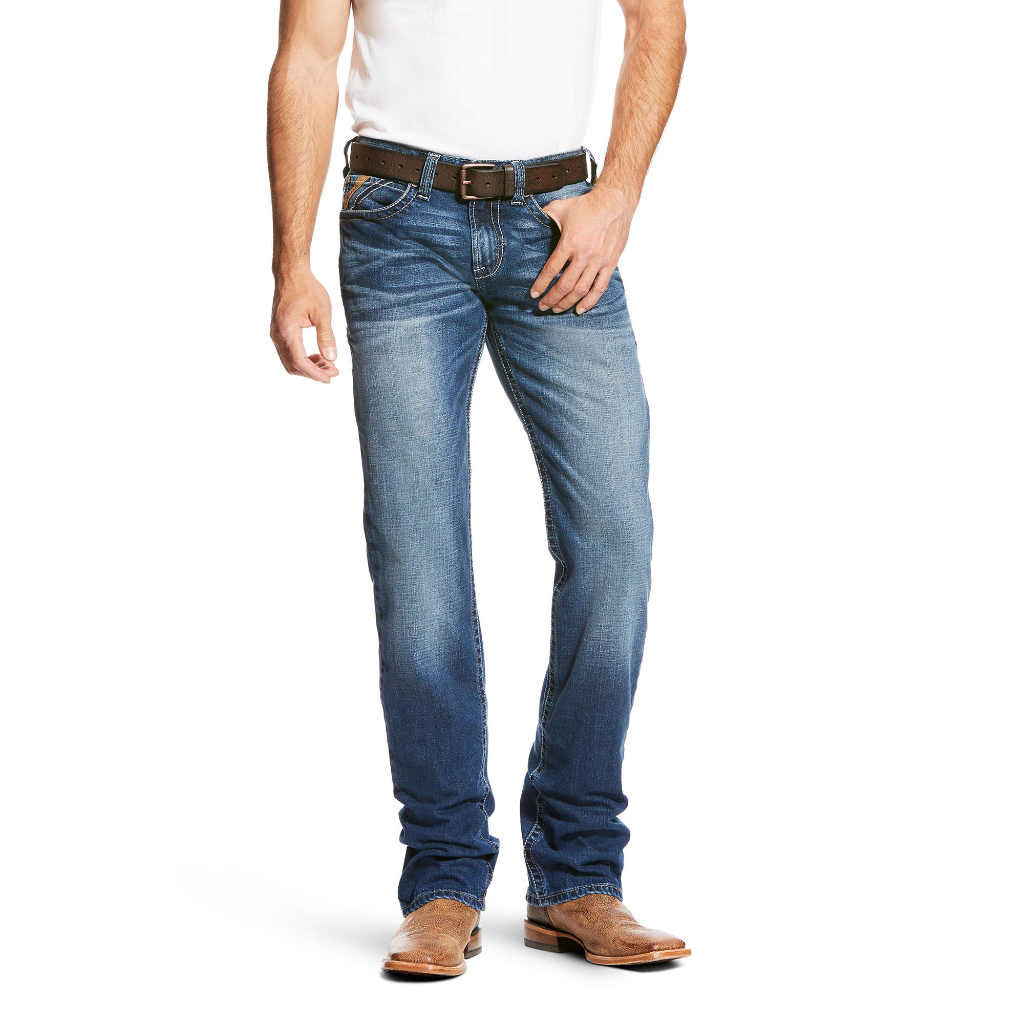 M7 Rocker Concord Stretch Stackable Straight Leg Jean