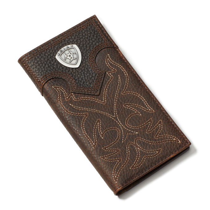 Logo Boot Stitch Rodeo Wallet