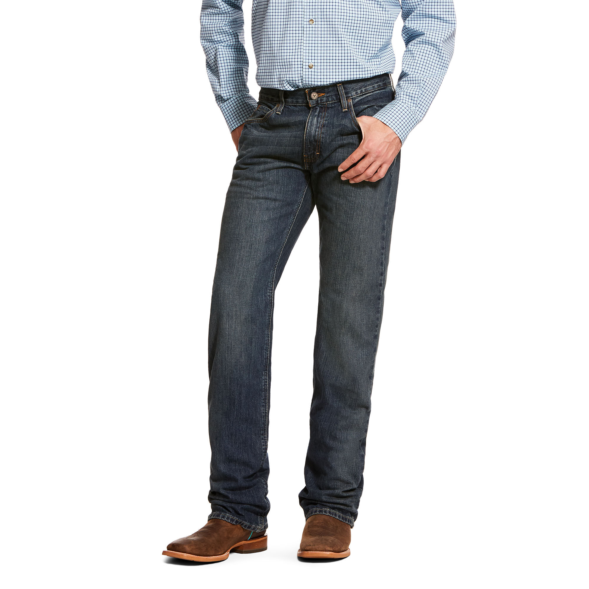 Ariat Men/'s M4 Tabac Low Rise Jeans