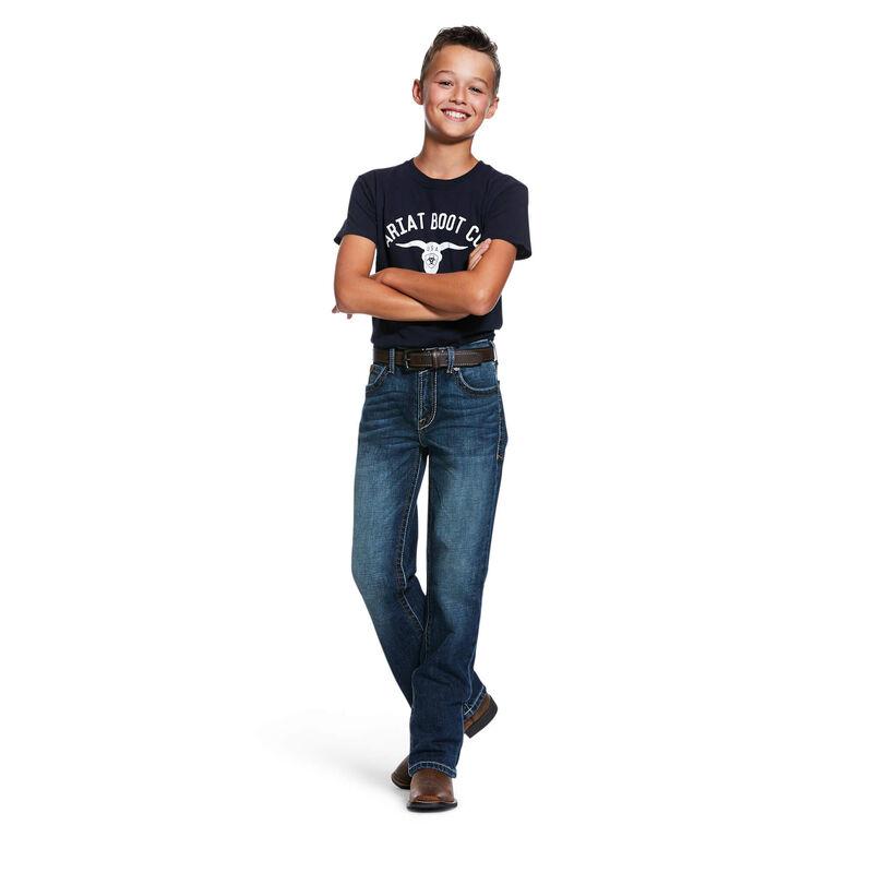 B5 Slim Stretch Hooper Stackable Straight Leg Jean