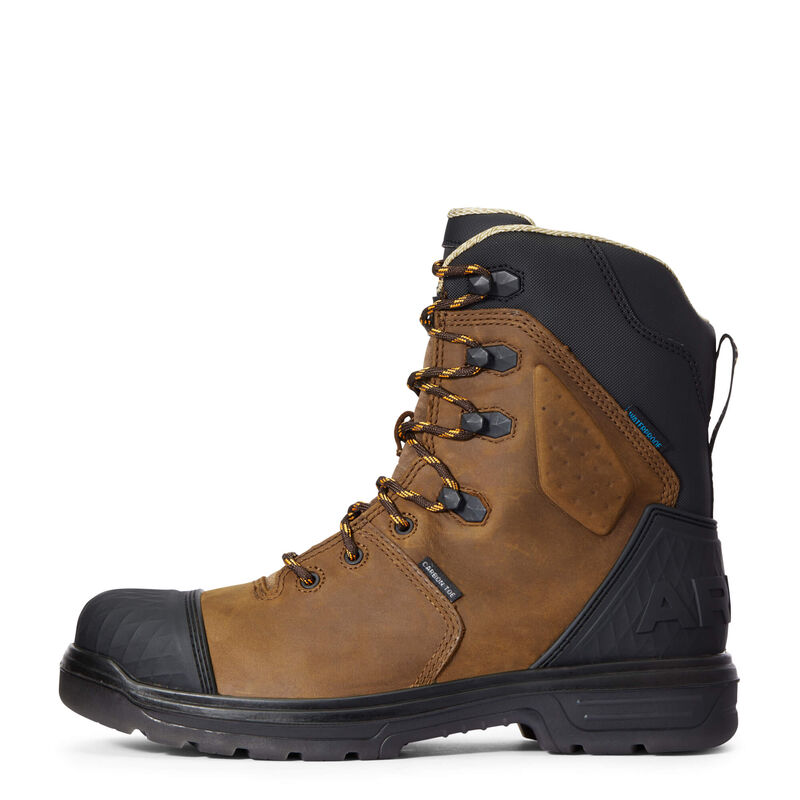 """Turbo Outlaw 8"""" CSA Waterproof Carbon Toe Work Boot"""