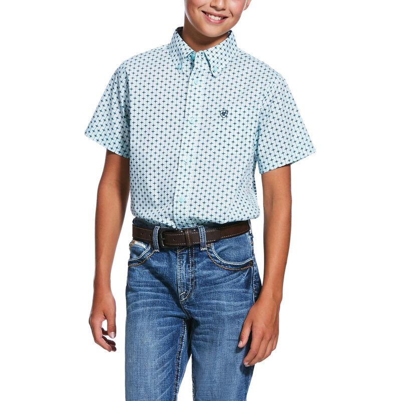 Reedley Print Stretch Classic Fit Shirt