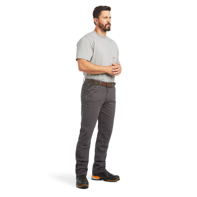 Rebar M4 Low Rise DuraStretch Made Tough Double Front Stackable Straight Leg Pant