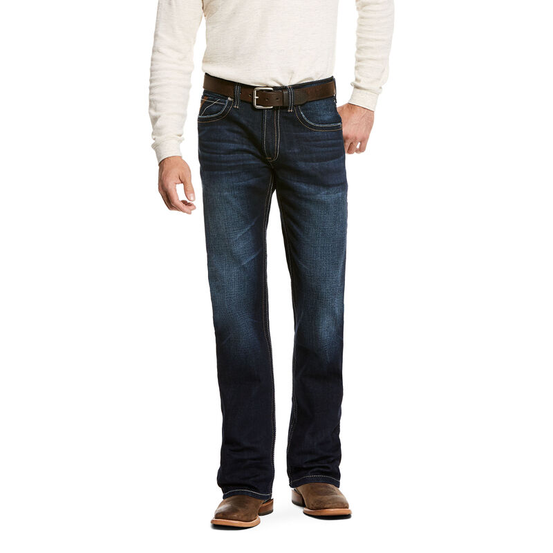 M5 Slim Stretch Ralston Stackable Straight Leg Jean