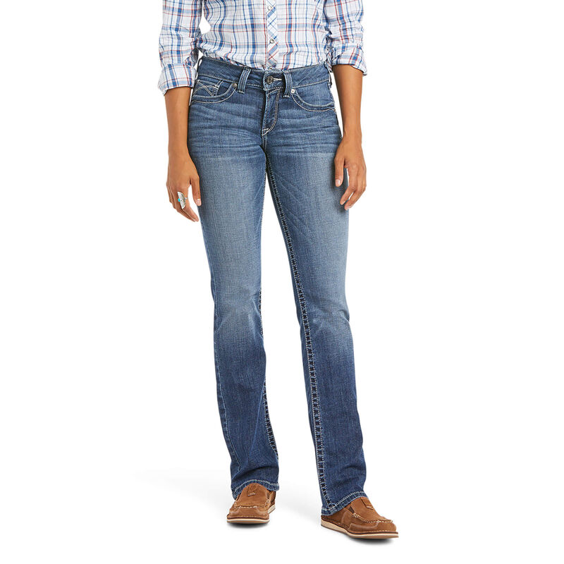 Ariat Women's R.E.A.L. Perfect Rise Cameryn Straight Jeans
