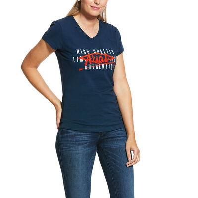 Crop Logo T-Shirt