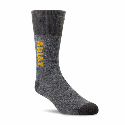 Marl Thermal Wool Blend Work Sock 2 Pair Pack