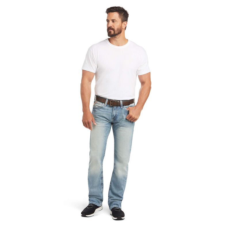 M7 Rocker Stretch Stirling Stackable Straight Leg Jean