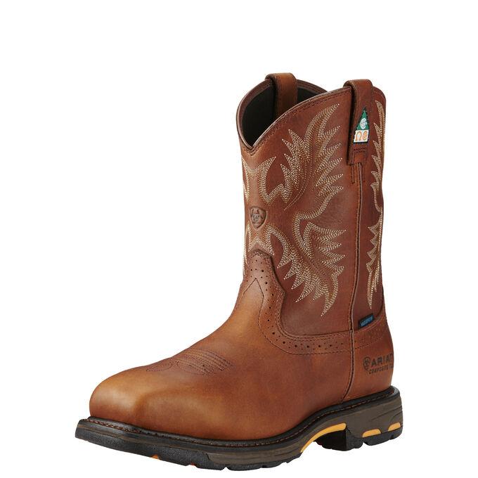 WorkHog Wide Square Toe CSA Waterproof Composite Toe Work Boot