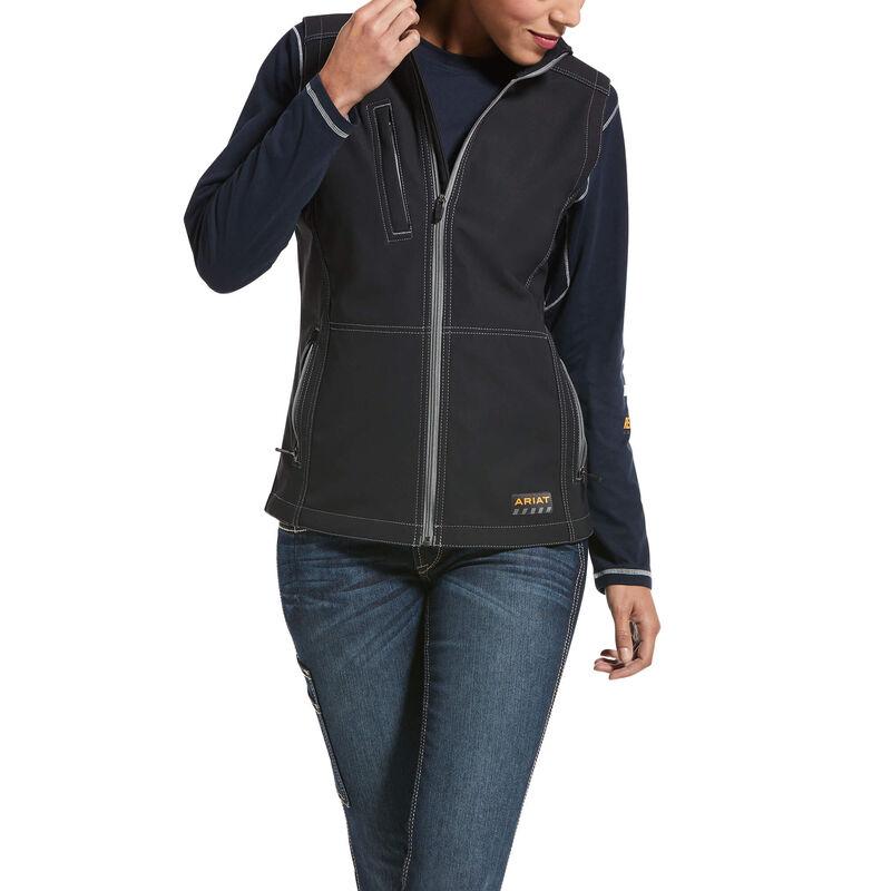 Ariat Women's Rebar Stretch Canvas Softshell Vest