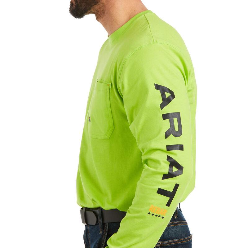 Rebar Workman Logo Long Sleeve T-Shirt