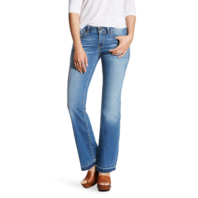 Ultra Stretch Cropped Straight Jean